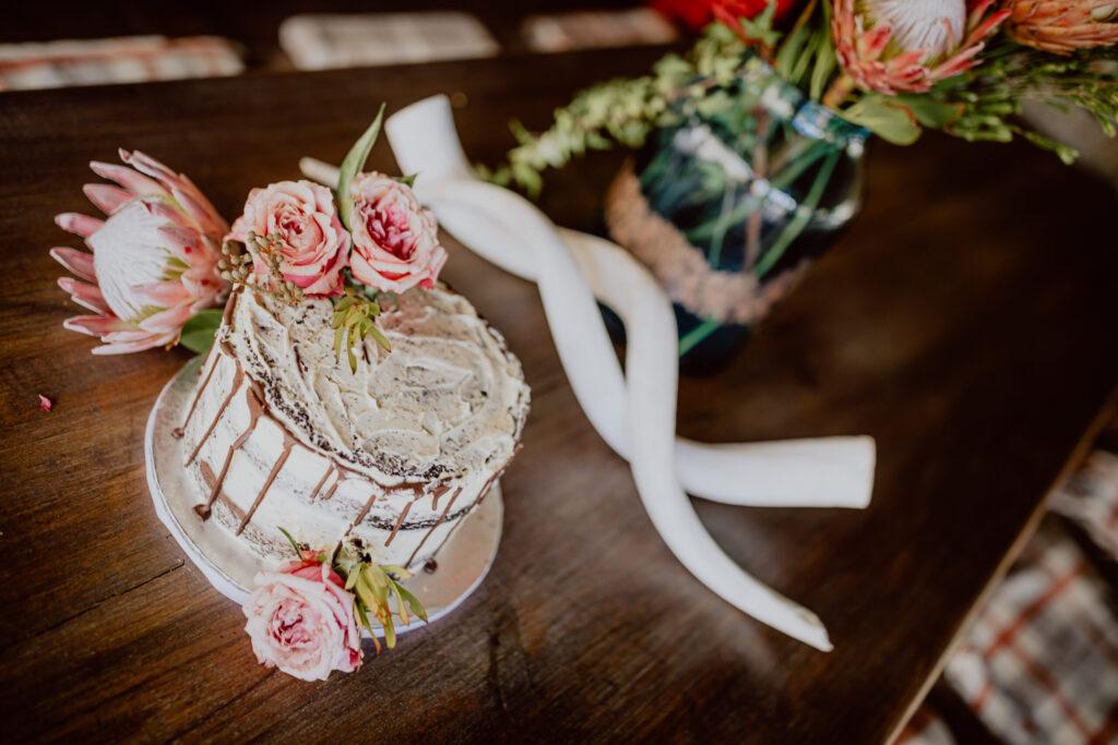 Die unglaublich leckere Hochzeitstorte