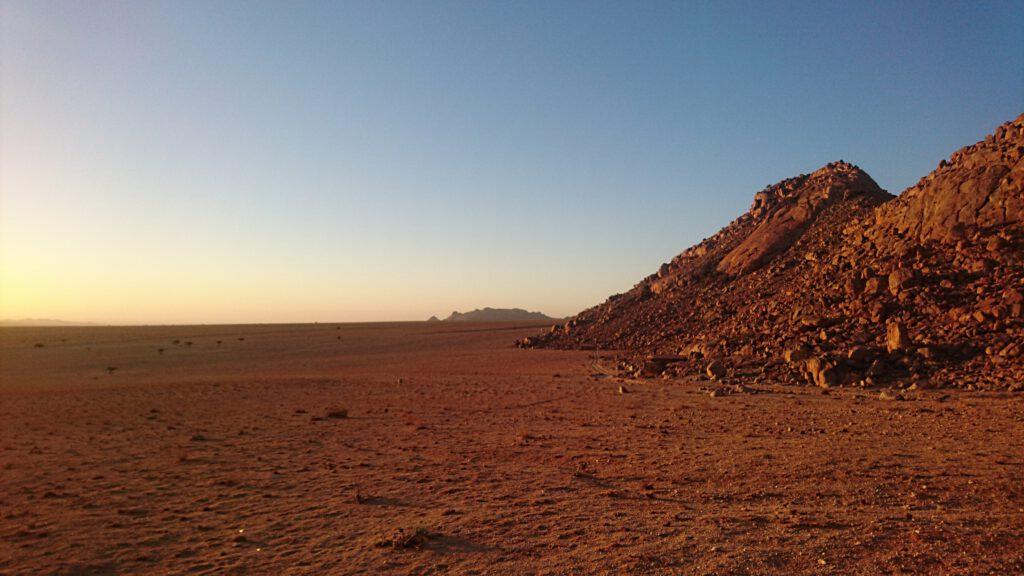 Die Namib-Wüste - eine der trockensten Orte der Welt