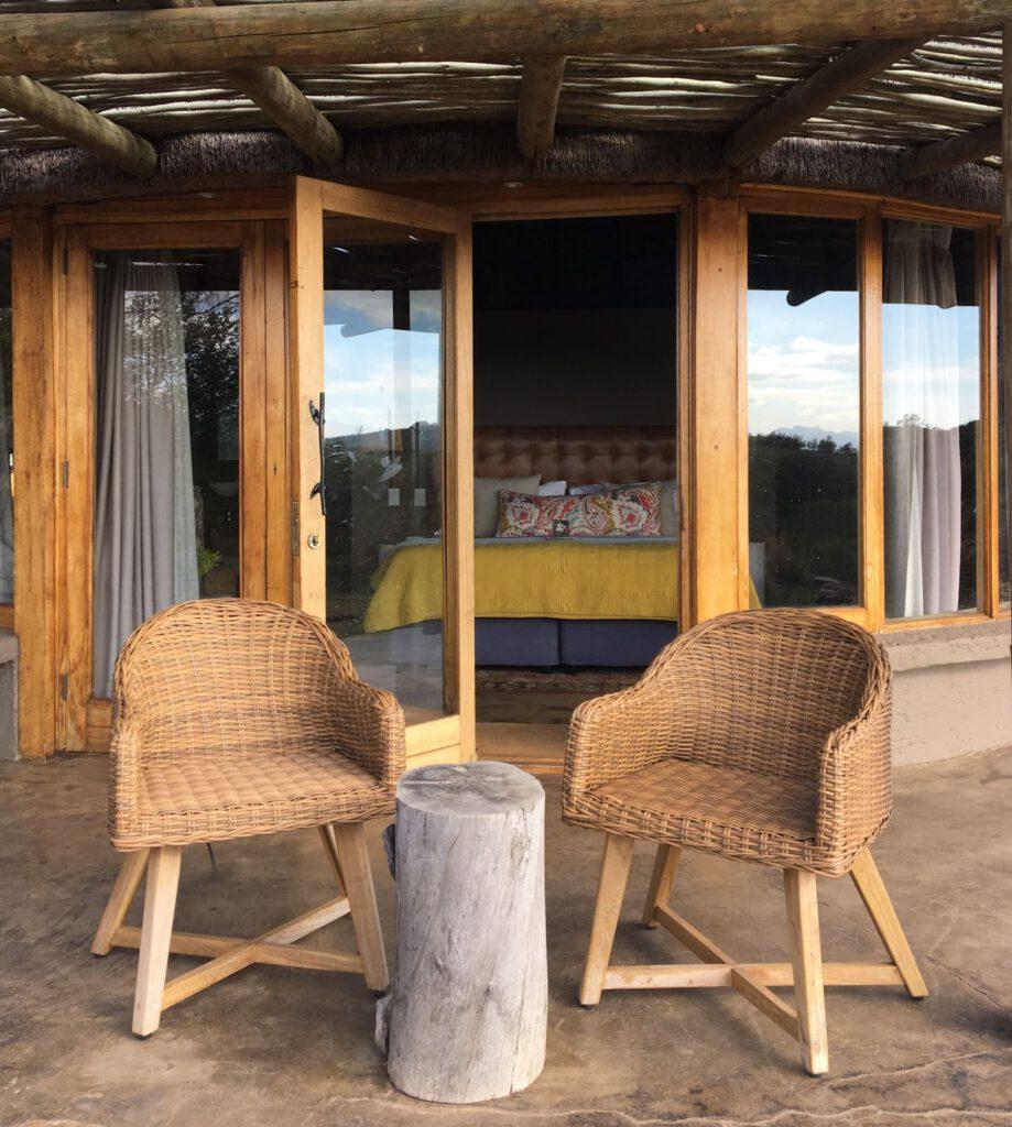 Lodge im privaten Game Reserve in Südafrika