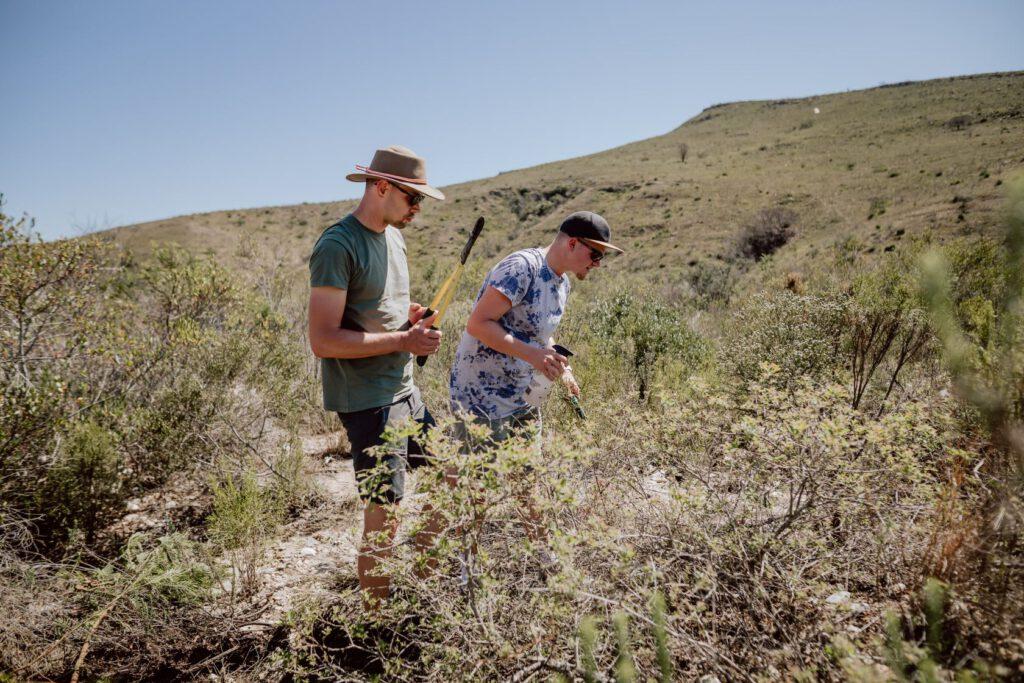 Wir helfen den Rangern in Südafrika bei ihrer Arbeit