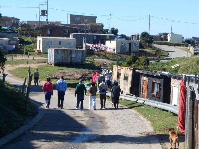 Township Tour durch das Knysna Township
