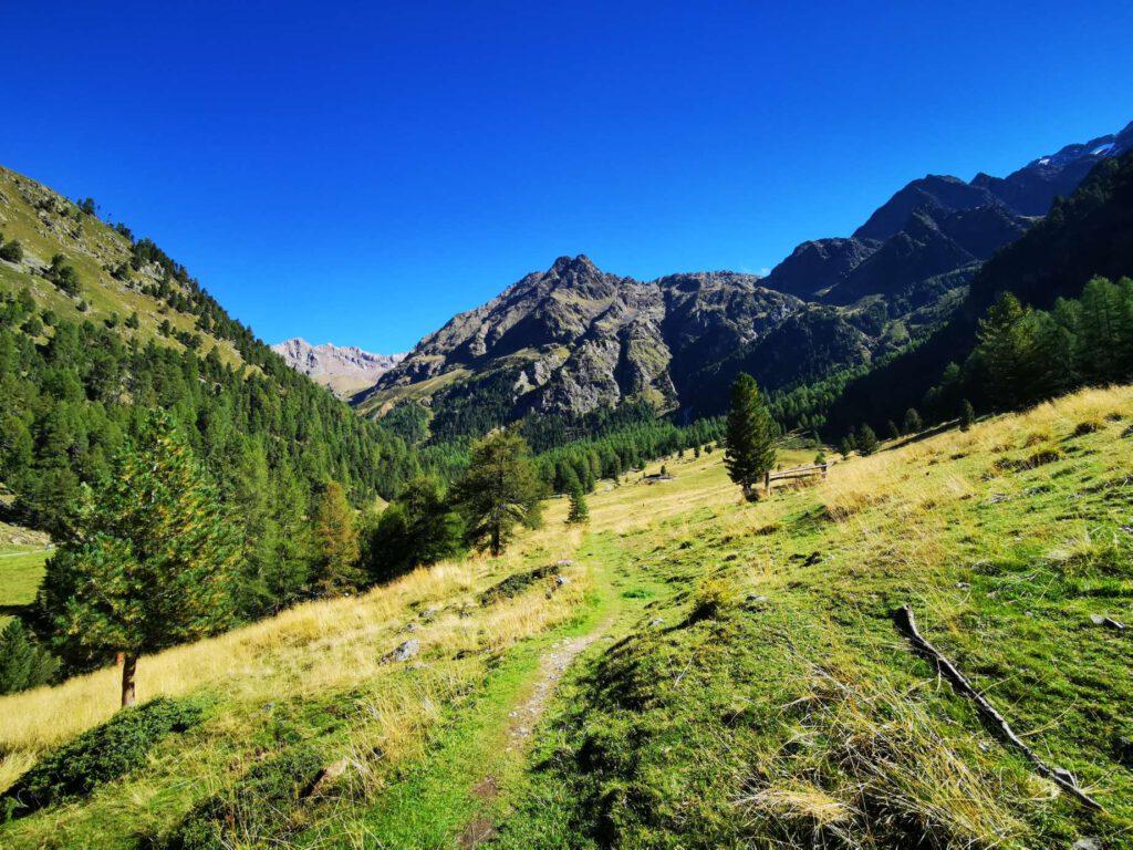 Das Matschertal - für mich die schönste Route für den Aufstieg zur Weißkugel