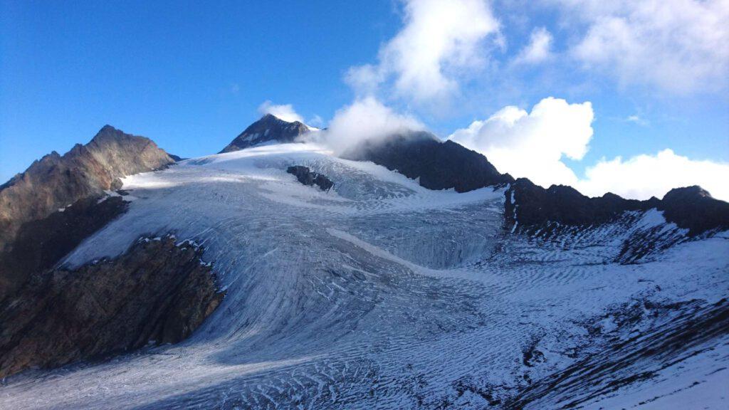 Die Weißkugel und ihr Gletscher - imposant und wunderschön