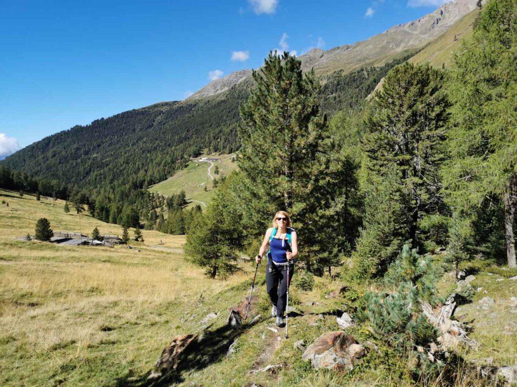 Allein der Wanderweg von Matsch zur Oberetteshütte ist traumhaft